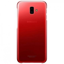 EF-AJ610CRE Samsung Gradation Clear Cover Red pro Galaxy J6+ (EU Blister)