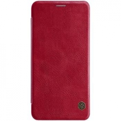 Nillkin Qin Book Pouzdro pro Samsung A750 Galaxy A7 2018 Red