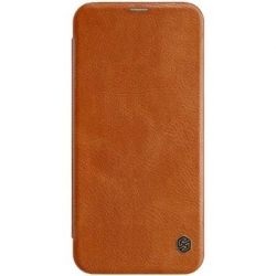 Nillkin Qin Book Pouzdro pro Samsung J415 Galaxy J4+ Brown