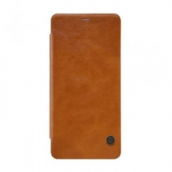 Nillkin Qin Book Pouzdro pro Samsung A530 Galaxy A8 2018 Brown