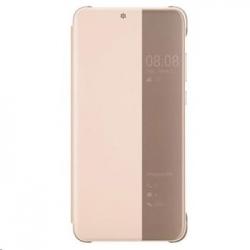 Huawei Original S-View Pouzdro Pink pro Huawei P20 (EU Blister)