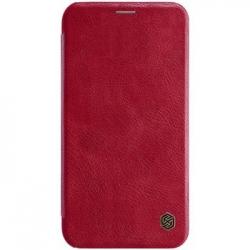 Nillkin Qin Book Pouzdro Red pro iPhone XR