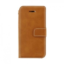 Molan Cano Issue Book Pouzdro pro iPhone XR Brown