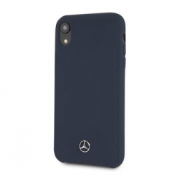 MEHCI61SILNA Mercedes Silicon/Fiber Case Lining Navy pro iPhone XR