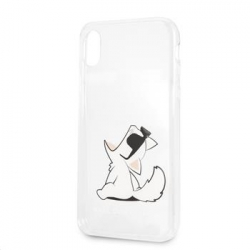 KLHCI61CFNRC Karl Lagerfeld Fun Choupette No Rope Hard Case pro iPhone XR