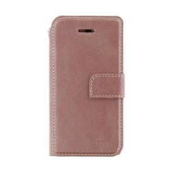 Molan Cano Issue Book Pouzdro pro iPhone XS Max Rose Gold