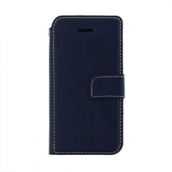 Molan Cano Issue Book Pouzdro pro iPhone XS Max Navy