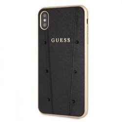 GUHCI65KASABK Guess Kaia Hard Case Black pro iPhone XS Max