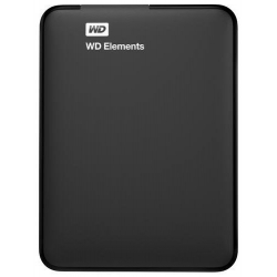 "Western Digital ELEMENTS 1TB, 2,5"" - WDBUGZ001BBK-WESN"