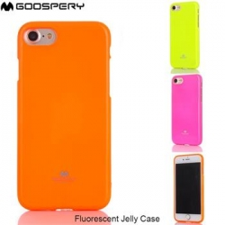 Mercury Fluorscence Jelly Case pro iPhone 7/8 Plus Orange