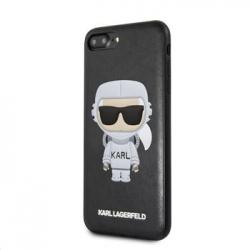 KLHCI8LKSCO Karl Lagerfeld Space Cosmonaut Hard Case Black pro iPhone 7/8 Plus