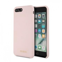 GUHCI8LLSGLLP Guess Silicone Logo TPU Case Light Pink pro iPhone 7/8 Plus