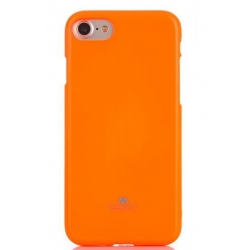 Mercury Fluorscence Jelly Case pro iPhone 7/8 Orange