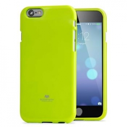 Mercury Fluorscence Jelly Case pro iPhone 7/8 Lime