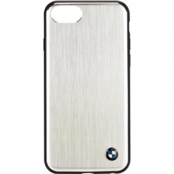 BMHCI8SASI BMW Aluminium Hard Case Silver pro iPhone 7/8