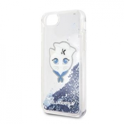 KLHCI8KSCH Karl Lagerfeld Sailor Choupette TPU Case Blue pro iPhone 7/8