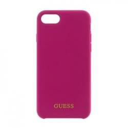 GUHCI8LSGLPI Guess Silicone Logo TPU Case Pink pro iPhone 7/8