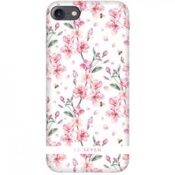 SoSeven Tokyo Case White Cherry Kryt pro iPhone 6/6S/7/8