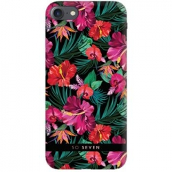 SoSeven Hawai Case Tropical Black Kryt pro iPhone 6/6S/7/8