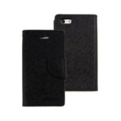 Mercury Fancy Diary Pouzdro pro iPhone 7/8 Black