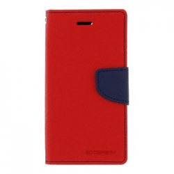 Mercury Fancy Diary Pouzdro pro iPhone 7/8 Red/Navy
