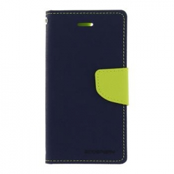 Mercury Fancy Diary Pouzdro pro iPhone 7/8 Navy/Lime