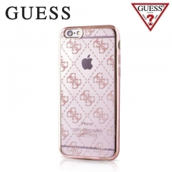 GUHCP7TR4GRG Guess 4G TPU Pouzdro Rose Gold pro iPhone 6/6S/7/8