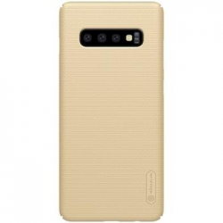 Nillkin Super Frosted Zadní Kryt Gold pro Samsung Galaxy S10