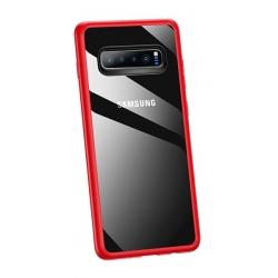 USAMS Mant Zadní Kryt Red pro Samsung Galaxy S10