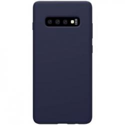 Nillkin Flex Pure Liquid Silikonové Pouzdro Blue pro Samsung Galaxy S10+