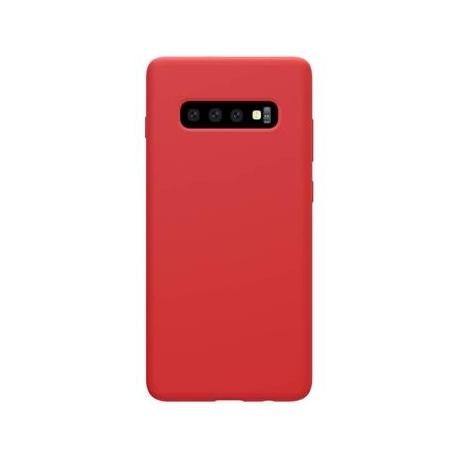 Nillkin Flex Pure Liquid Silikonové Pouzdro Red pro Samsung Galaxy S10+