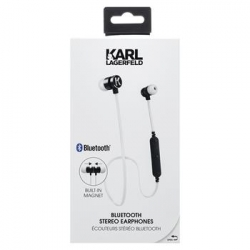 CGBTE07 Karl Lagerfeld Bluetooth Stereo Headset White (EU Blister)