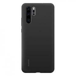 Huawei Original Silicone Pouzdro Black pro Huawei P30 Pro (EU Blister)