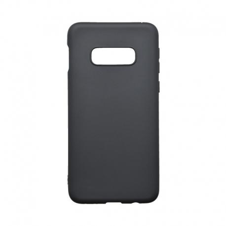 Silikónové puzdro Forcell Soft pre Samsung Galaxy S10E čierne