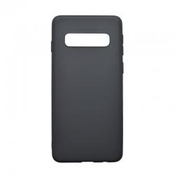 Silikónové puzdro Forcell Soft pre Samsung Galaxy S10 PLUS čierne