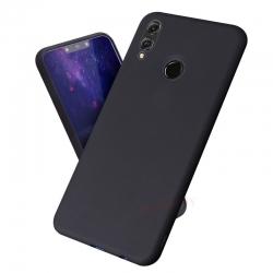 Huawei P smart 2019 / Honor 10 Lite - Matné silikónové púzdro čierne