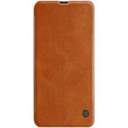 Nillkin Qin Book Pouzdro pro Samsung Galaxy A20e Brown