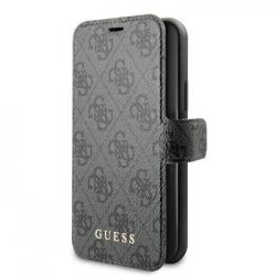 GUFLBKSN614GG Guess 4G Book Pouzdro pro iPhone 11 Grey (EU Blister)