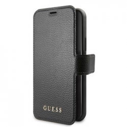 GUFLBKSN65IGLBK Guess Iridescent Book Pouzdro pro iPhone 11 Pro Max Black (EU Blister)
