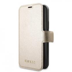 GUFLBKSN65IGLGO Guess Iridescent Book Pouzdro pro iPhone 11 Pro Max Gold (EU Blister)