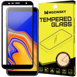 Samsung Galaxy J6 Plus - 5D Full glue Wozinsky Tvrdené sklo