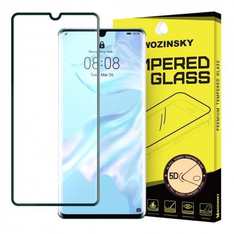 Huawei P30 - 5D Full glue Wozinsky Tvrdené sklo