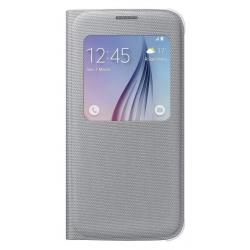 EF-CG920BSE Samsung S-View Pouzdro Silver pro G920 Galaxy S6 (EU Blister)