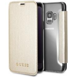 GUFLBKS8LIGLTGO Guess IriDescent Book Pouzdro Gold pro Samsung Galaxy S8 Plus