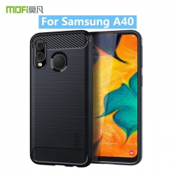 Samsung Galaxy A40 carbon bush obal