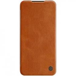 Nillkin Qin Book Pouzdro pro Samsung Galaxy A30s/A50s Brown