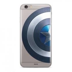 MARVEL Captain America 006 Zadní Kryt pro Samsung A505 Galaxy A50/A30s Transparent