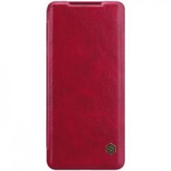 Nillkin Qin Book Pouzdro pro Samsung Galaxy S20 Ultra Red