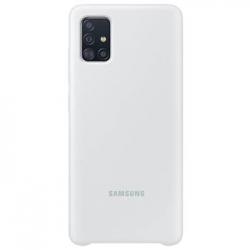 EF-PA515TWE Samsung Silikonový Kryt pro Galaxy A51 White (EU Blister)