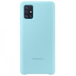 EF-PA515TLE Samsung Silikonový Kryt pro Galaxy A51 Blue (EU Blister)